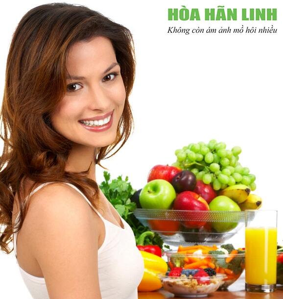 Rau, củ, quả giúp bù lượng vitamin cần thiết khi bị ra mồ hôi nhiều
